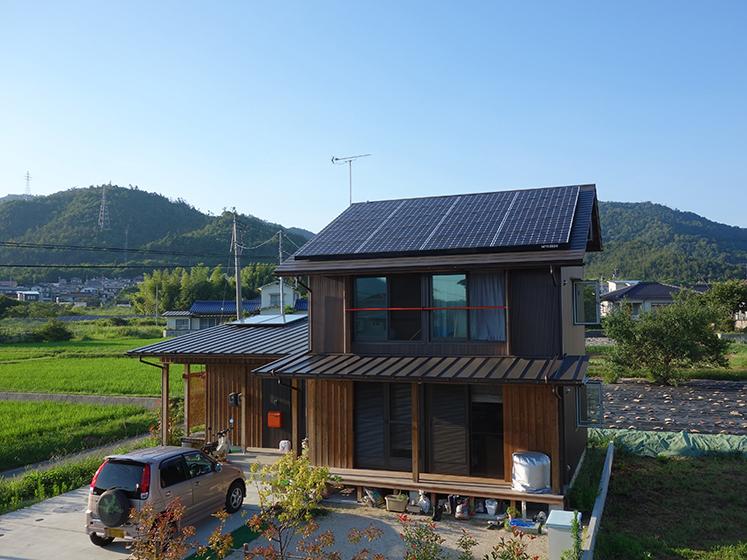 パッシブデザインを活用した<br />ゼロエネルギー住宅
