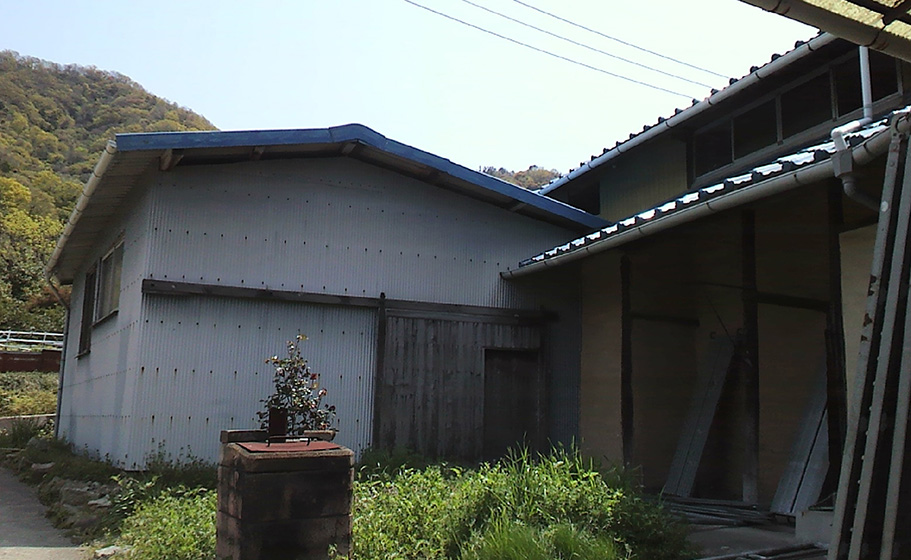 瀬戸田の離れ Before写真2