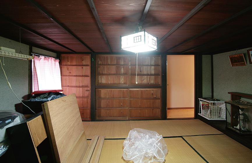 江戸時代末期の古民家再生 Before写真3