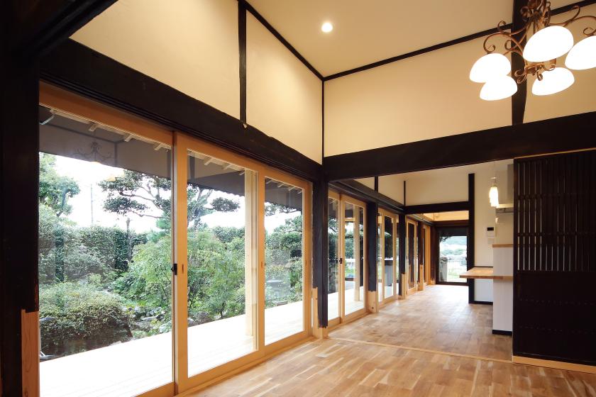 焼山高台の古民家