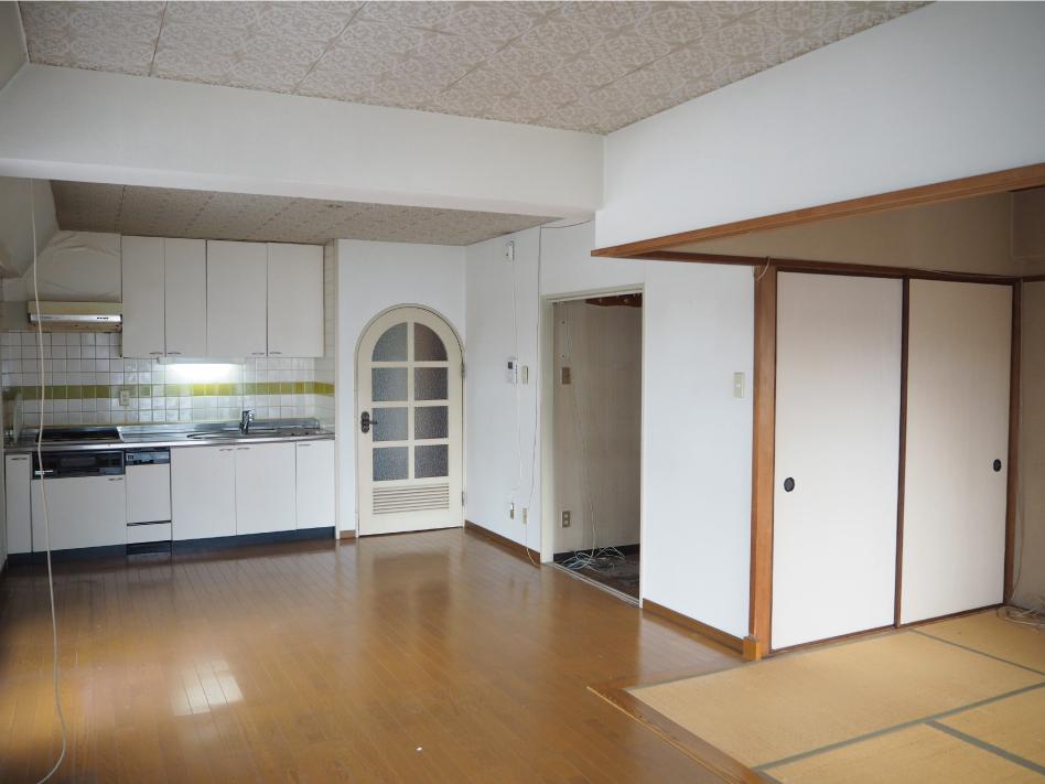 すっきり暮らす家 Before写真1