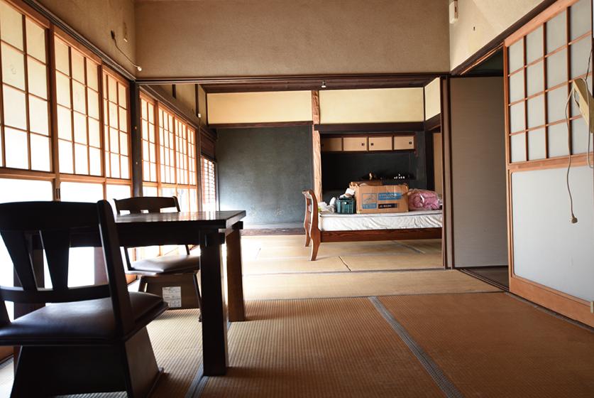 海軍の町に残された希少な古民家を IT,電化製品,断熱に対応した家へ Before写真1